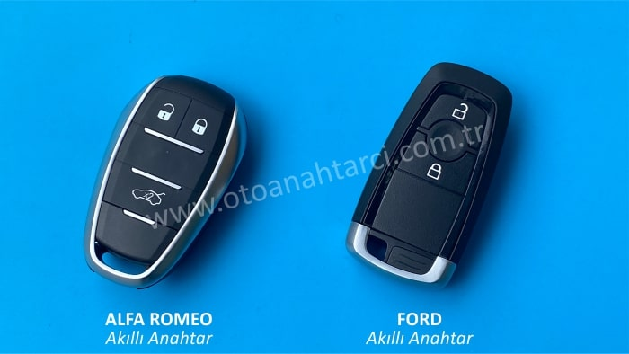 alfa romeo ford akıllı anahtar smart anahtar