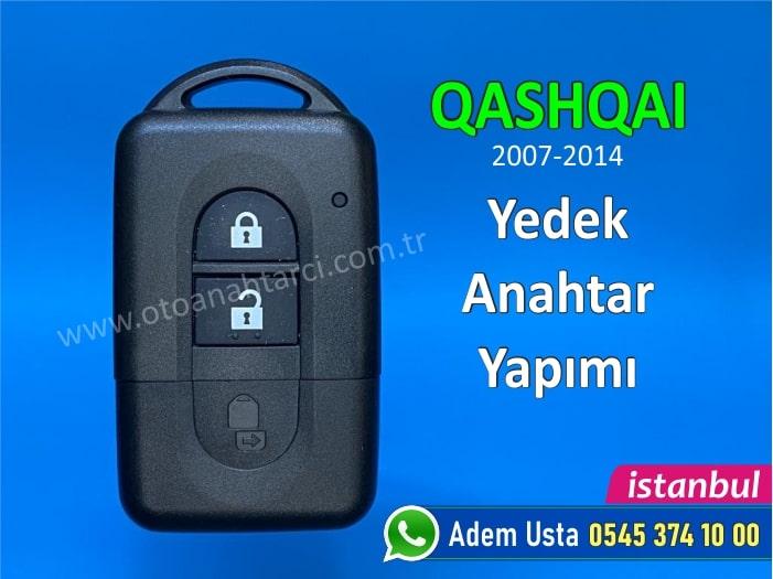 Nissan Qashqai Akıllı Anahtar Kulplu