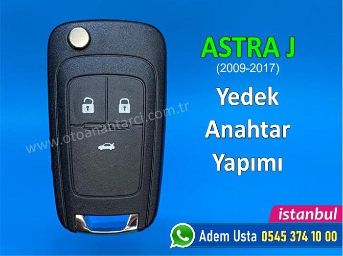 Astra J için yedek anahtar yapımı