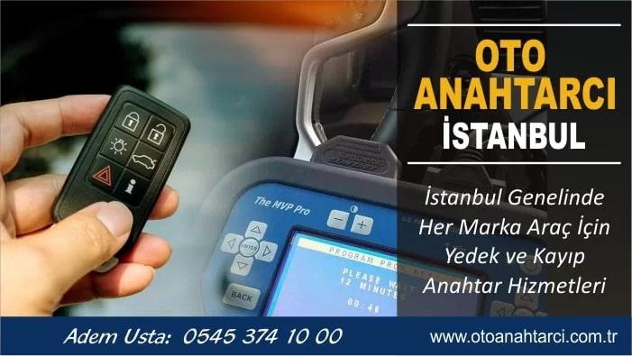 Clio 4 Anahtar Yapımı İstanbul