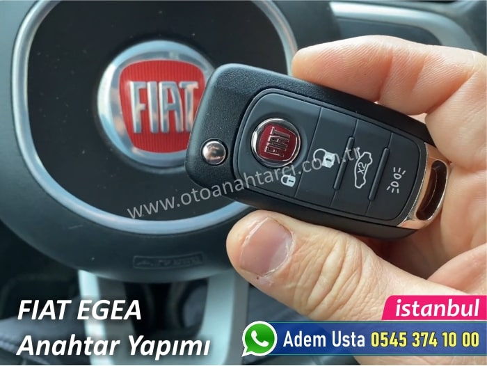 Fiat Egea Anahtar Kopyalama ve Çoğaltma