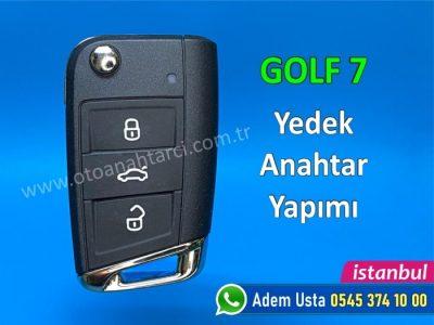Golf 7 Anahtar Yapımı