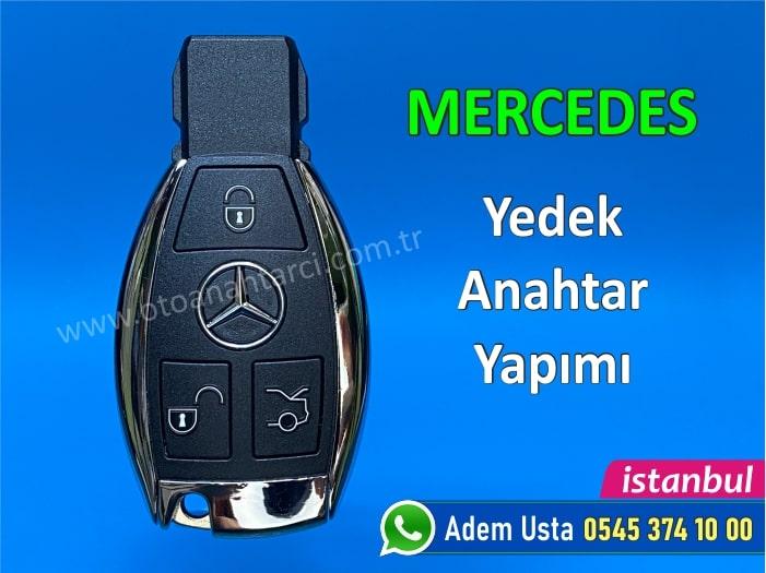 Mercedes anahtar yapımı