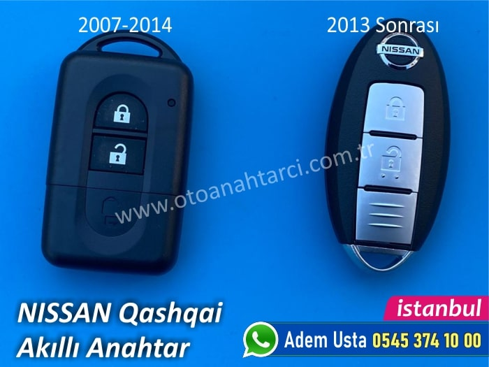 Nissan Qasqai Akıllı Anahtar Özellikleri