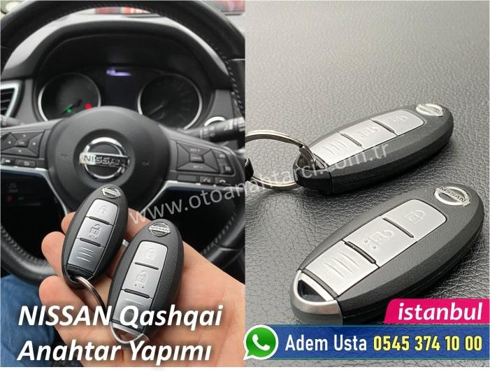 Nissan Qashqai Akıllı Anahtar Fiyatı