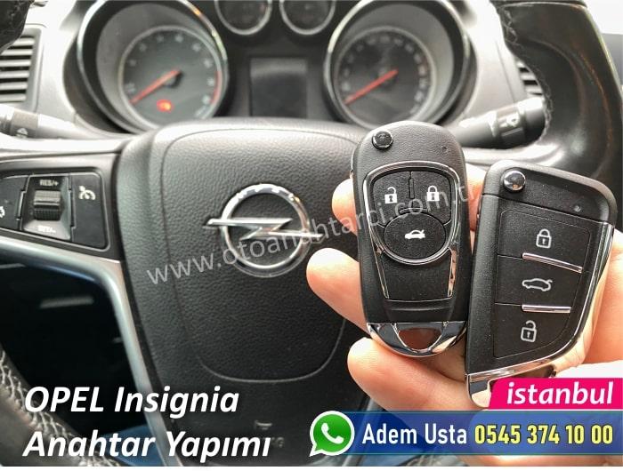 Opel Insignia Yedek Anahtar Yaptırmak