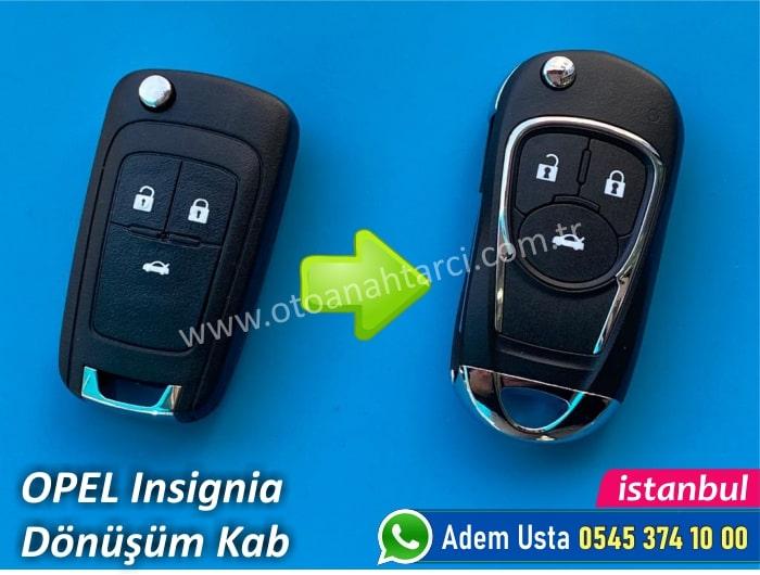 insignia anahtar kabı