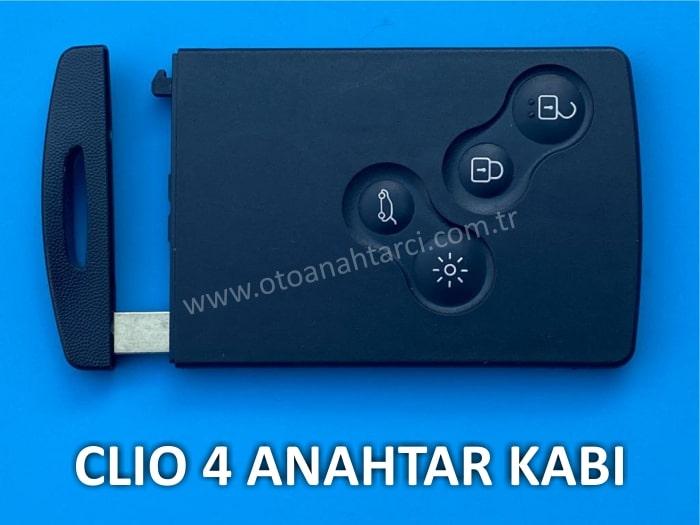 clio 4 kart anahtar kabı