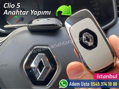 Clio 5 anahtar yapımı