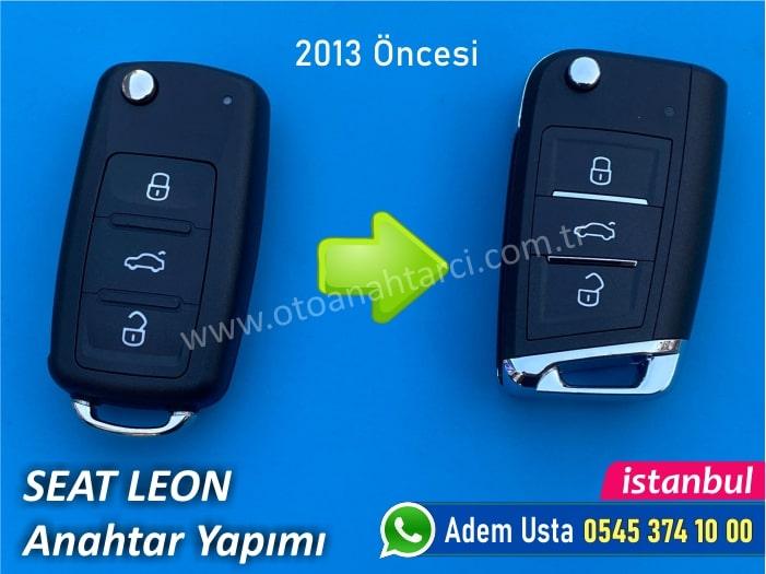 Seat Leon Anahtarı (2002-2013)