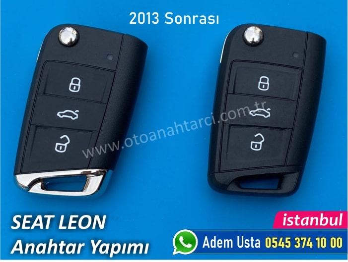 Seat Leon Anahtarı (2013 Sonrası)