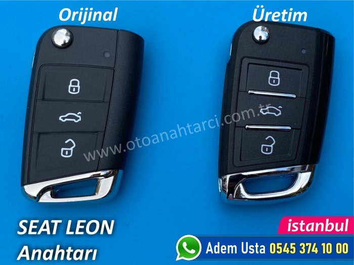 Seat Leon Yedek Anahtar Fiyatı