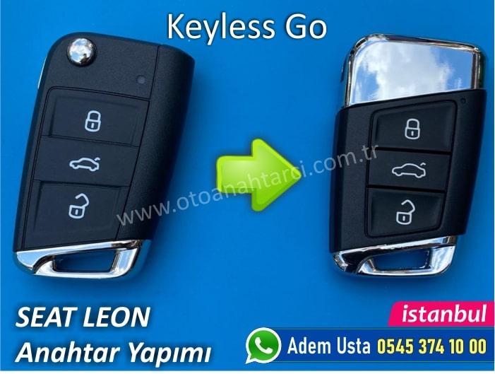 Seat Leon Keyless Go Anahtar Yaptırma