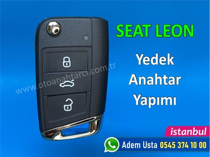Seat Leon Anahtar Yapımı   Yedek Kopyalama - Oto Anahtarcı İstanbul