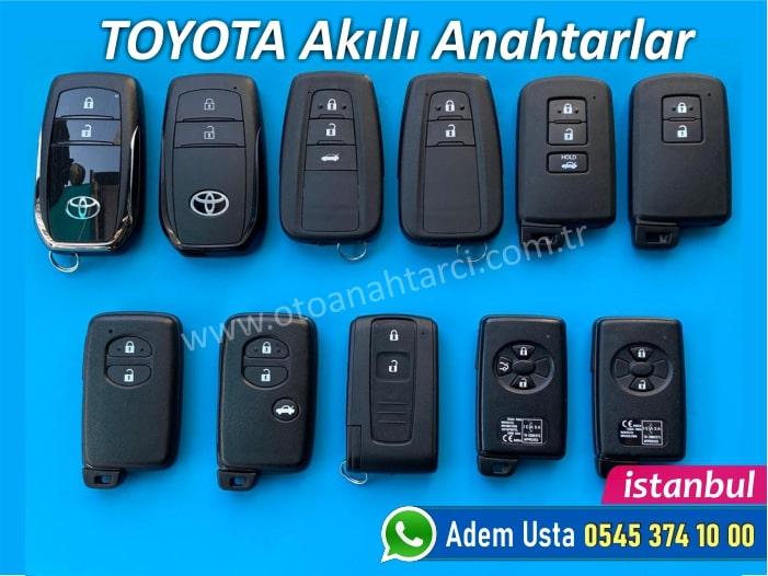 Toyota akıllı anahtar modelleri