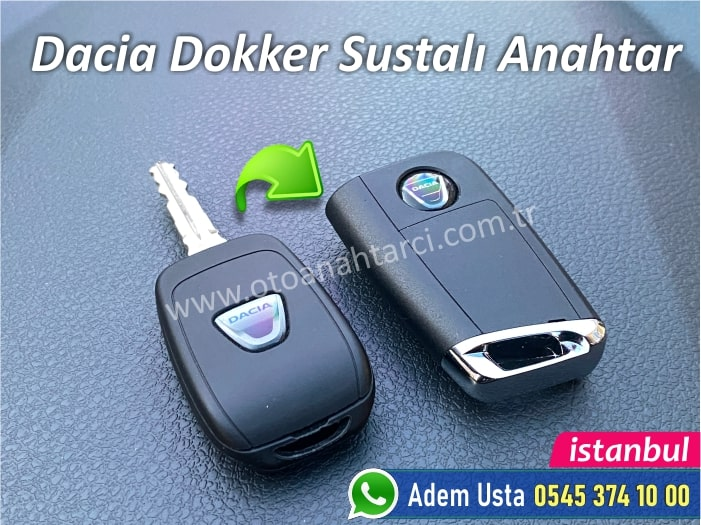 Dacia Dokker Sustalı Anahtar Fiyatları
