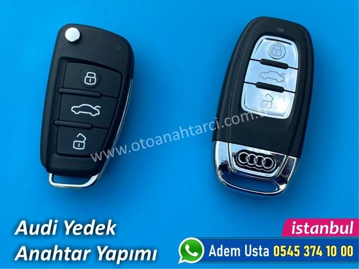 Audi Yedek Anahtar Yapımı