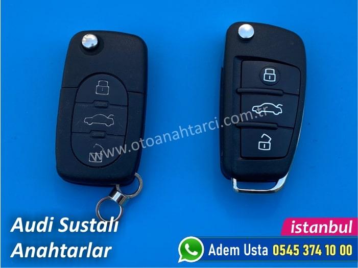 Audi Sustalı Anahtarlar