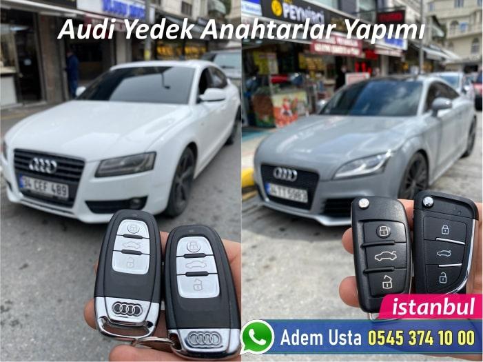 Audi Yedek Anahtar Yaptırma