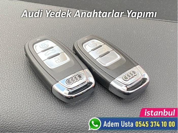 Audi Anahtar Kopyalama