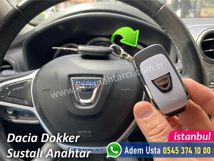 Dacia Dokker Yedek Anahtar Yaptırma