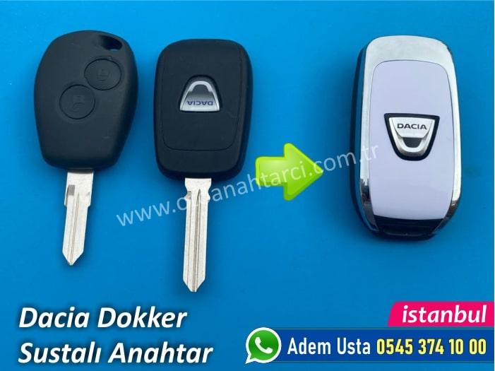 Dacia Dokker Sustalı Anahtar