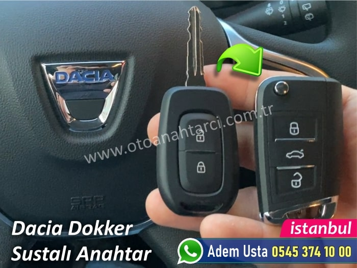 Dacia Dokker Anahtar Yapımı