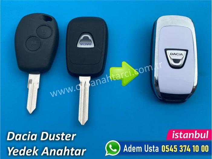 Dacia Duster Anahtar Yapımı