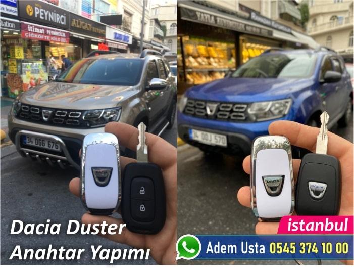 Dacia Duster Yedek Anahtar Yaptırma