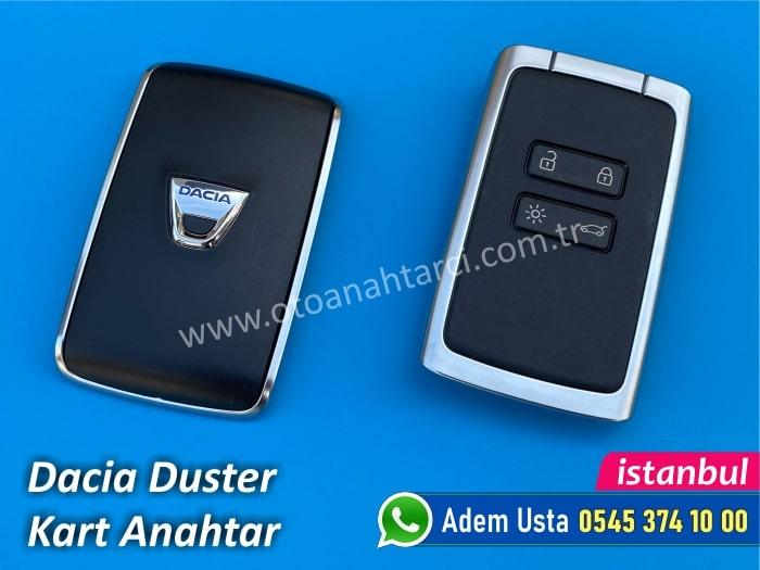Dacia Duster Kart Anahtar
