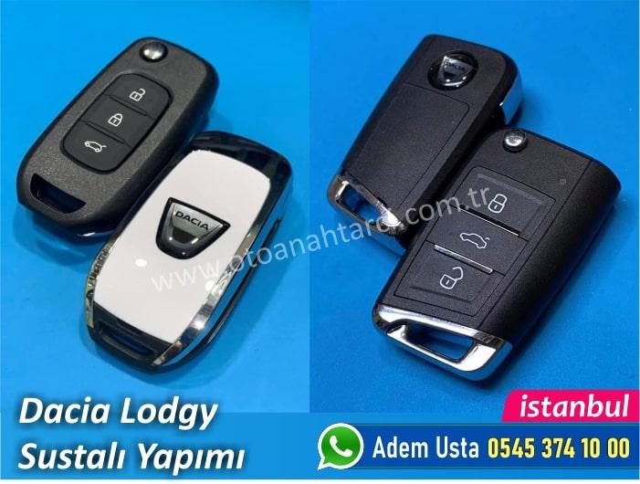 Dacia Lodgy Yedek Anahtar Fiyatı