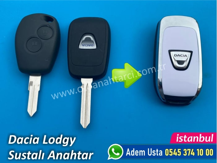 Dacia Lodgy Sustalı Anahtar