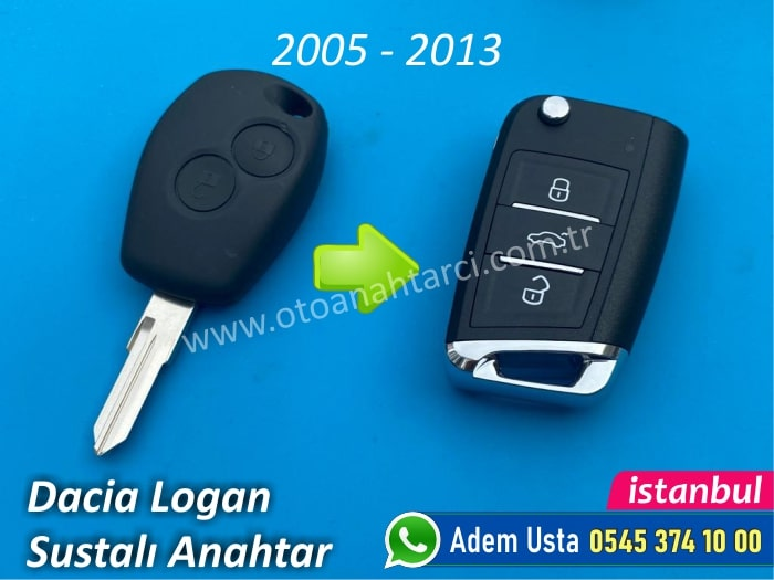Dacia Logan Anahtarı (2005-2013)