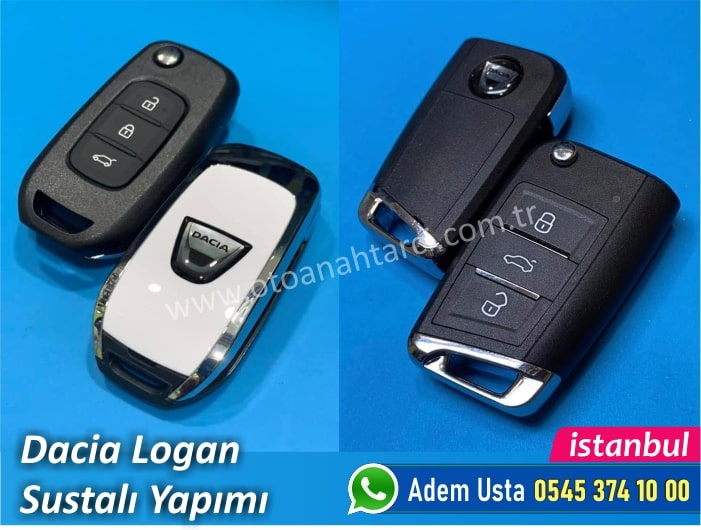 Dacia Logan Sustalı Anahtar