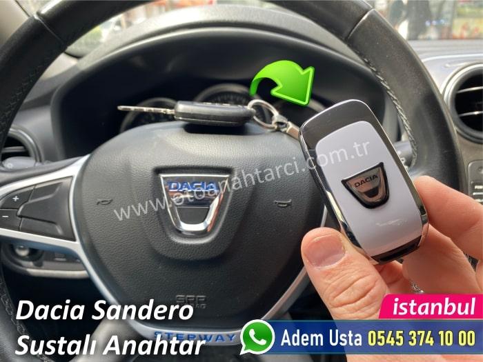 Dacia Sandero Stepway Yedek Anahtar Yaptırma