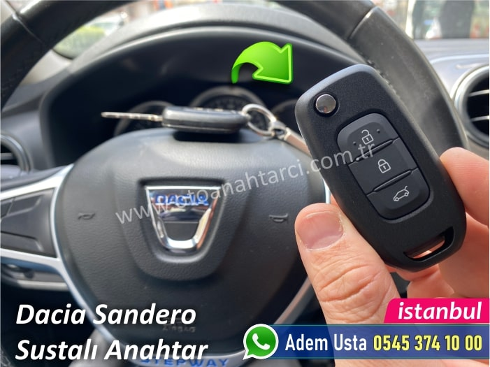 Dacia Sandero Stepway Anahtar Kopyalama