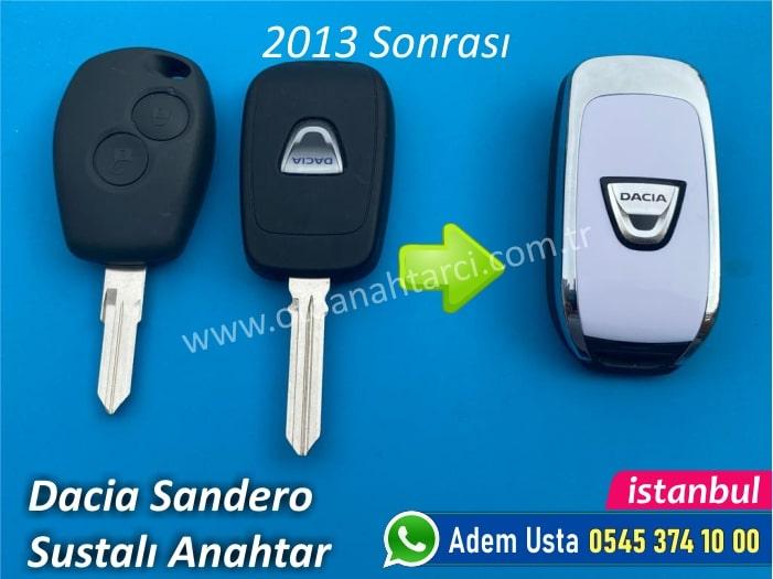 Dacia Sandero Stepway Anahtarı (2013 Sonrası)
