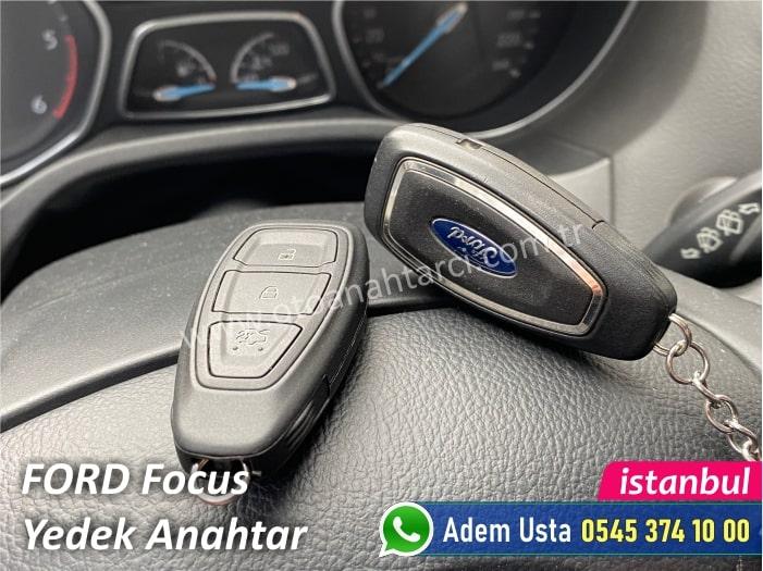 Ford Focus Yedek Anahtar Yaptırma