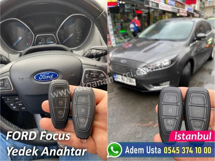 Ford Focus Anahtar Kopyalama