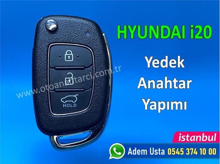 Hyundai i20 Anahtar Yaptımı