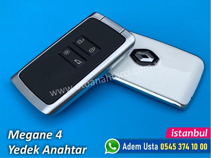 Megane 4 Touch Kart Anahtar