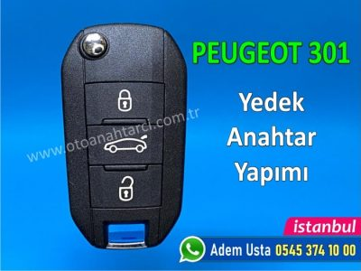 Peugeot 301 Anahtar Yapımı