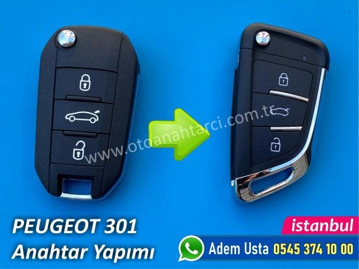 Peugeot 301 Yedek Anahtar Yaptırma