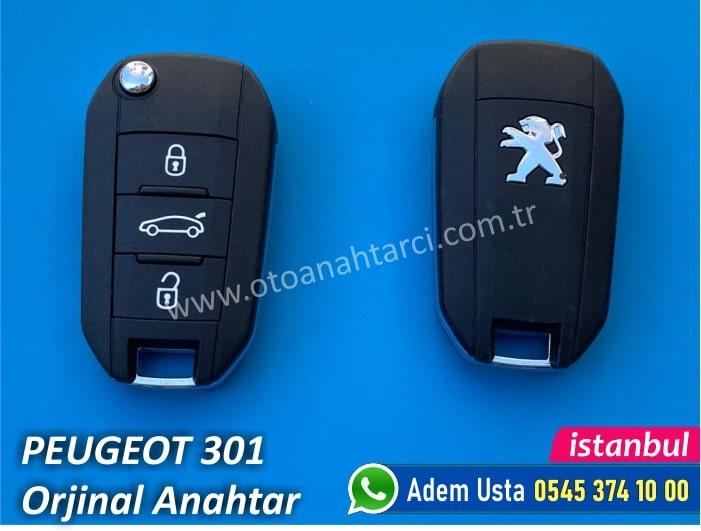 Peugeot 301 Orjinal Anahtar Fiyatı