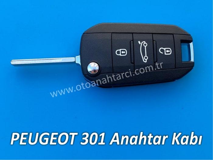 Peugeot 301 Anahtar Kabı