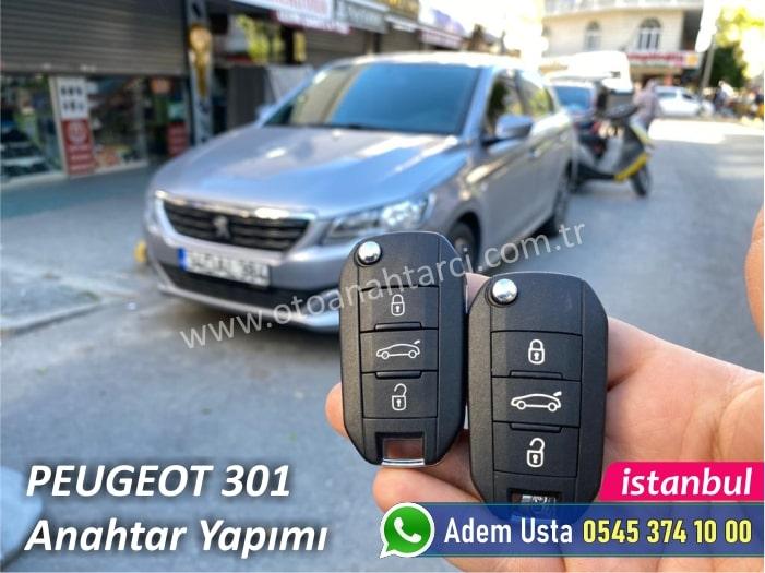 Peugeot 301 Yedek Anahtar Fiyatı