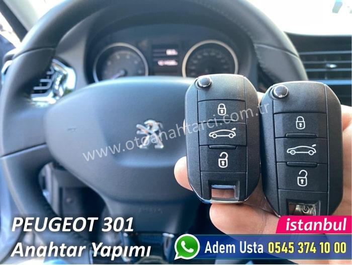 Peugeot 301 Anahtar Kopyalama