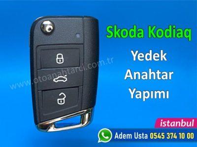 Skoda Kodiaq Anahtar Yapımı | Yedek Kopyalama - Oto Anahtarcı İstanbul