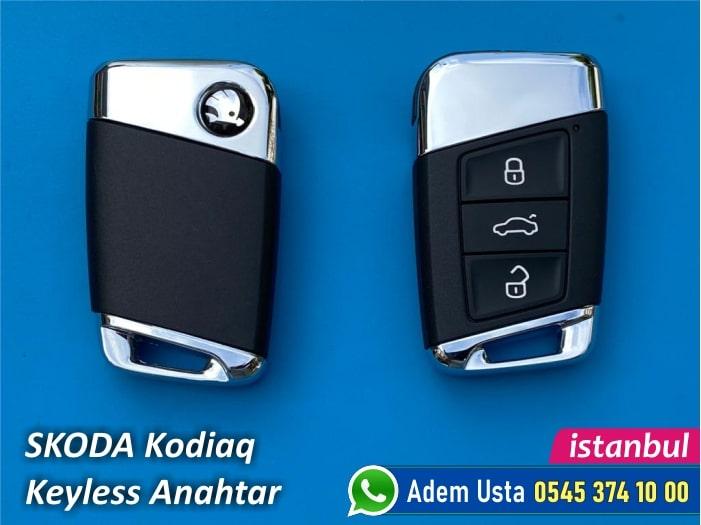Skoda Kodiaq Keyless Go Anahtar