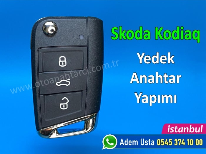 Skoda Kodiaq Anahtar Yapımı